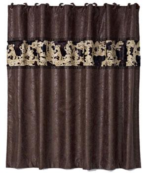 Cowprint Shower Curtain FABSH054