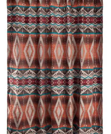 Mohave Sunset Shower Curtain