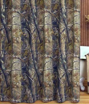 Real Tree Shower Curtain