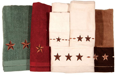 Texas Star 3 Pc Towel Set