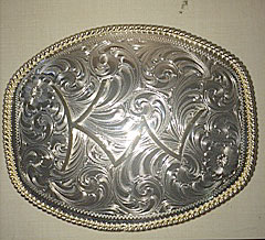Custom Brand Belt Buckle