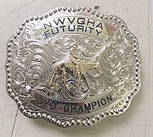 Custom Trophy Belt Buckle