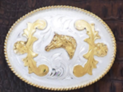 Horsehead Belt Buckle