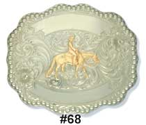 Pleasure Horse Belt Buckle