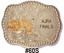 Team Penning Belt Buckle