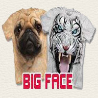 animal face t-shirts