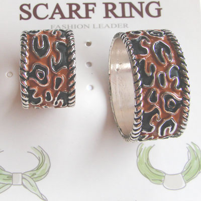 Pair of Scarf Rings