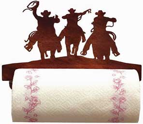 Cowboys Paper Towel Holder