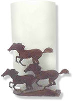 Galloping Horses Paper Towel Holder