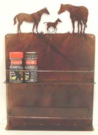 Mare/Foal Wall Spice Rack