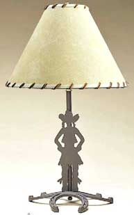 Cowgirl Lamp