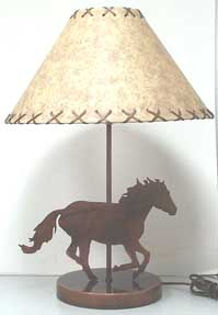 Loping Horse Lamp