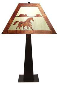 Mare / Foal Lamp