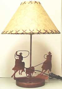 Team Ropers Lamp