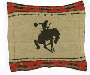 Bronco Horse Pillow Shams