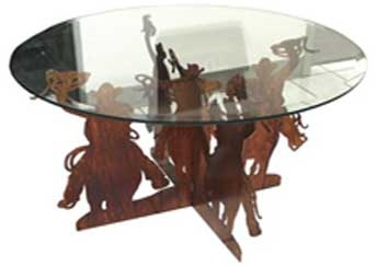 Cowboy Cocktail Table