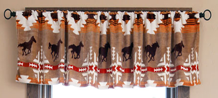 Free Rein Gathered Valance