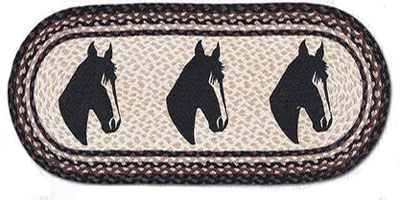 Horse Portrait Table Runner