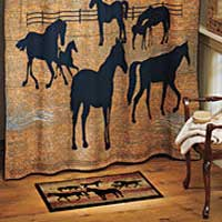 Ranch Horse Small Area Rug