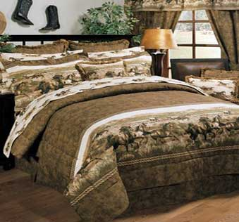 Running Horse 4PC Comforter Set