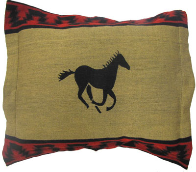 Running Horse Pillow Shams