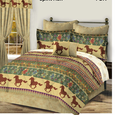 Spirit Run 8 Pc Bed In A Bag
