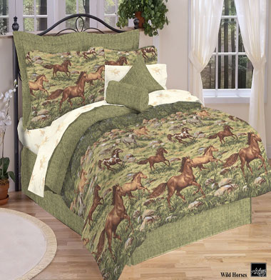 Wild Horses 8 Pc Bed In A Bag