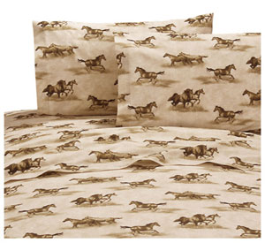 Wild Horse 4Pc. Sheets Set