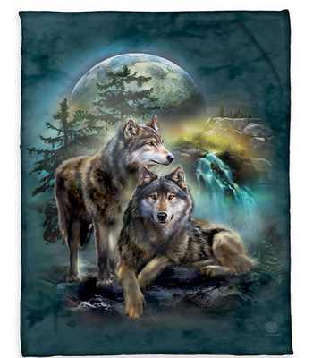 Wolf Lookout Blanket