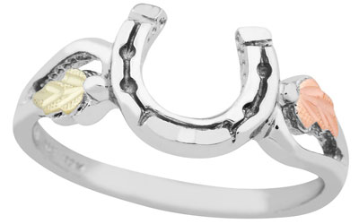 Sterling Silver Small Horseshoe Ring