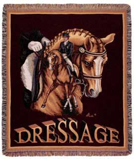 Dressage Throw/Tapestry