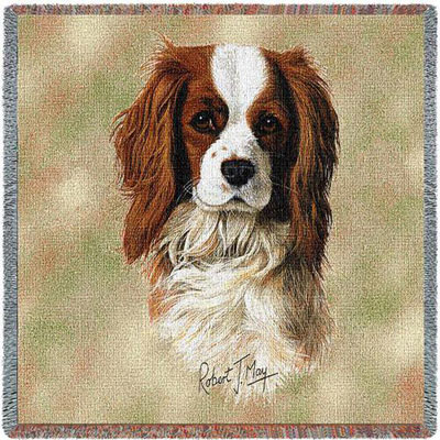 King Charles Spaniel Throw