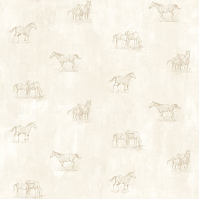 Wallpaper - Horse Sketch