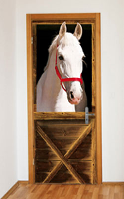 Wallpaper Mural - Horse in Stall
