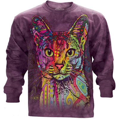 Abyssinian Cat Long Sleeve Shirt