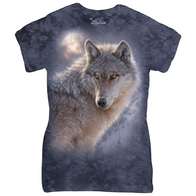 Adventure Wolf Ladies T-Shirt