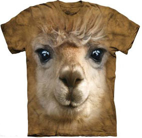 Alpaca Face T- Shirt