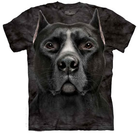 Black Pit Bull T- Shirt