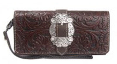 Buckle Trifold Wallet
