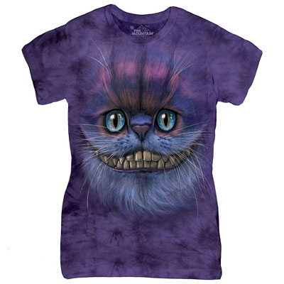 Cheshire Cat Ladies T- Shirt
