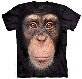 chimp Face T- Shirt