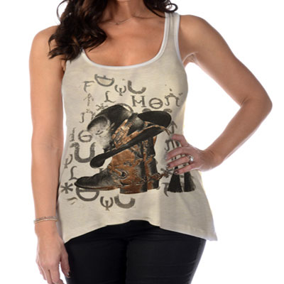Cowgirl At Heart Tank