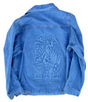 Cowgirl Gotta Ride Denim Jacket