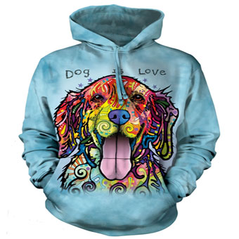 Dog is Love Hoodie