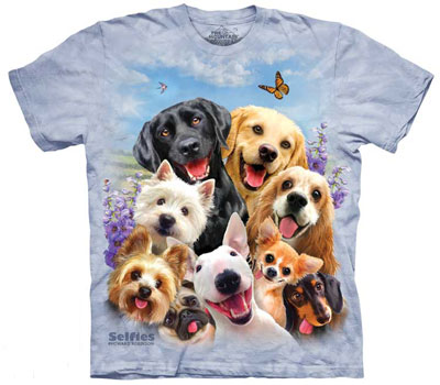 Dog Selfies T-Shirt