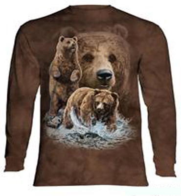 Find 10 bears long sleeve T- Shirt
