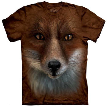 Fox Face T- Shirt