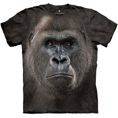 Gorilla Face T- Shirt