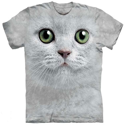 Green eyes Cat T- Shirt