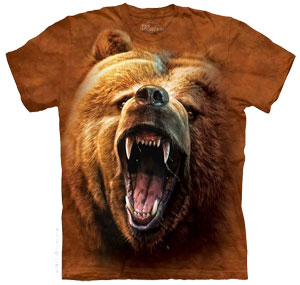 Grizzly Face T- Shirt